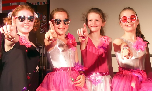 The Cherry Pop Tarts - from Park Hill School's production of the musical Poptastic